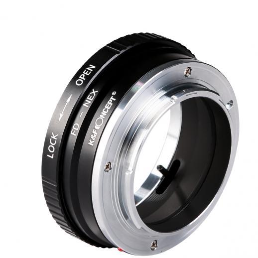 Canon FD Objektiv auf Sony E Mount Kamera Adapter Kupfer