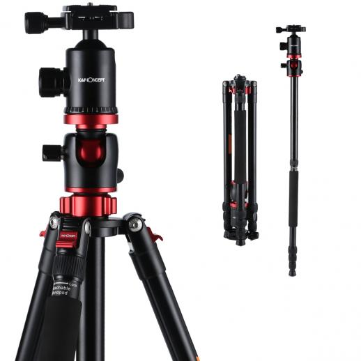 TM2534T Kamera Tripod Fotostativ Kugelkopf