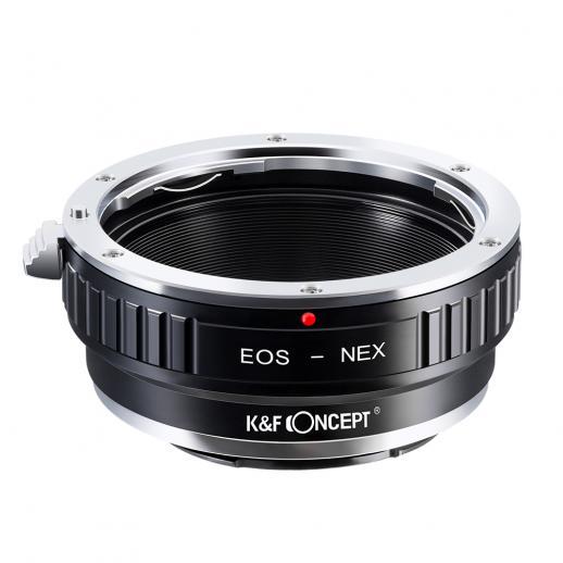 Canon EOS EF Objektiv auf Sony E Mount Kamera Adapter