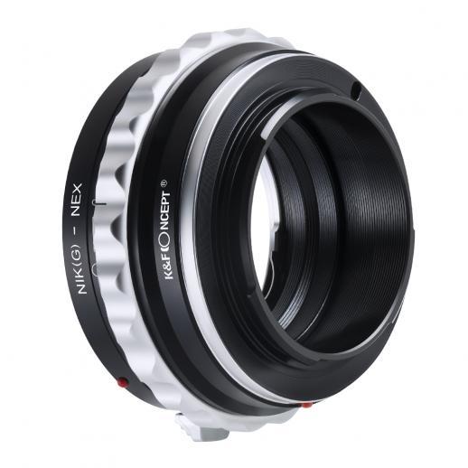 Nikon G/F/AI/AIS/D Objektiv auf Sony E Mount Kamera Adapter