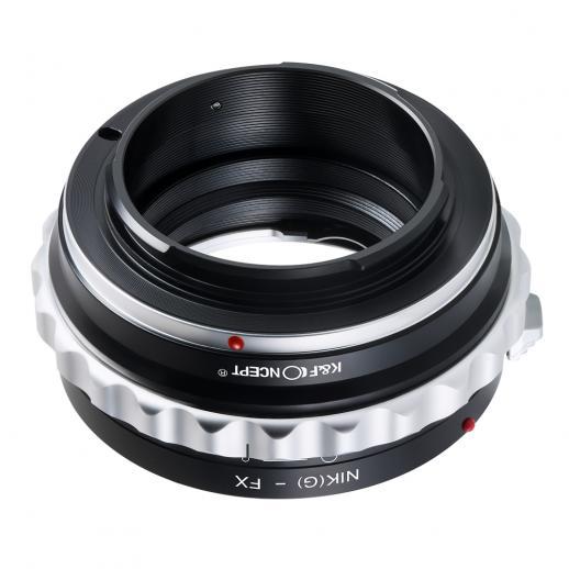 K Amp F Concept Nikon G F Ai Ais D Objektiv Auf Fuji X Mount