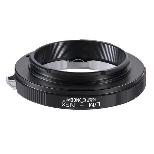 Leica M Objektiv auf Sony E Mount Kamera Adapter