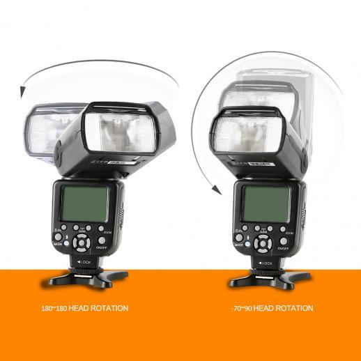 KF882 I-TTL Blitz HSS Flash für Nikon